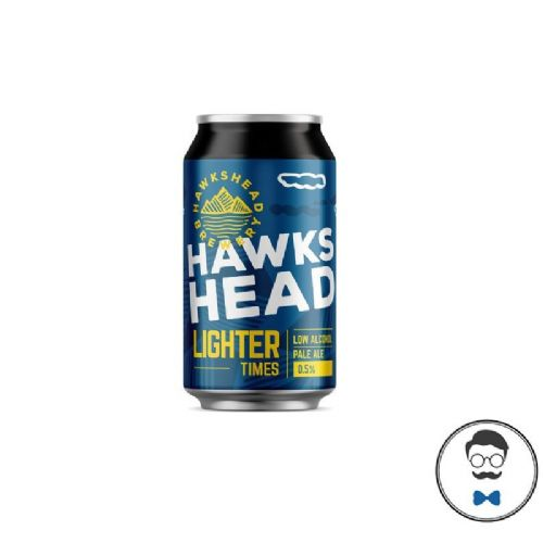 Hawkshead Light Times  Alcohol Free Beer Can (0.5% ABV)
